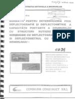 Revizuire-CD-31-2002 Normativ Pentru Determinarea Prin Deflectografie Si Deflectometrie a Capacitatii Portante
