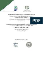Seguimiento oceanográfico al fenómeno de El Niño y su impacto en los rendimientos de las pesquerías del Pacífico de Guatemala (Años