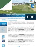Candidature UNESCO sur France 3