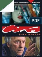 Cinéma  Renoir Martigues  Programme du 3 octobre au 13 novembre 2012