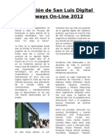 Diario de San Luis Digital 2012 por Always On-Line