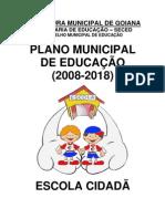 PLANO MUNICIPAL DE EDUCAÇÃO 2008 - 2018