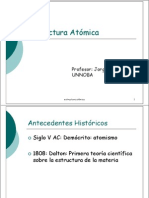 Clase 1 Estructrura Atomica