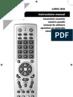 Telecomanda Universala HOME URC20