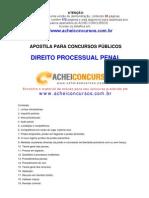 Apostila Completa de Direito Processual Penal para Concursos