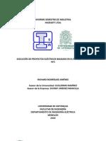 EJECUCIÓN DE PROYECTOS ELÉCTRICOS BASADOS EN EL RETIE y NORMA NTC