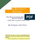 The 9 Investment Secrets of Buffett