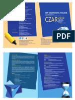 CZAR 2012 Invitation