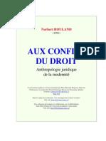 N. Rouland Antropologie juridique de la modernitè