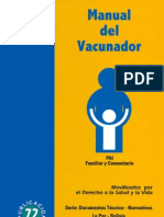 Manual Del Vacunador Pai