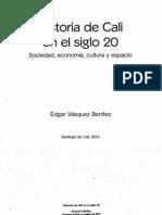 Edgar Vasquez - capítulo 5, desaceleración industrial, terciarización y confictos sociales, en Historia de Cali en el siglo 20