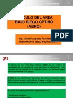Presentación ABRO Curso