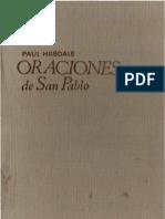 Hilsdale, Paul - Oraciones de San Pablo