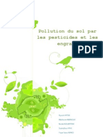 Pollution Du Sol Par Les Pesticides Et Les Engrais