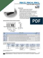 Datasheet Resistor Conjugado