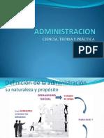 ciencia teoria y practica de la administracion