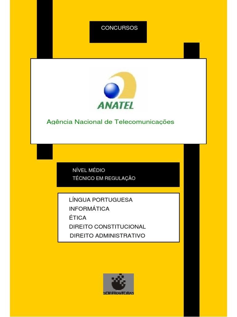 15a30ef995be8 Apostila ANATEL-Tecnico Completa(1)