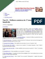 Top 10 – Melhores músicas da 1ª temporada de Smallville _ Na TV