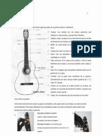 Partes de la guitarra, conceptos y posiciones