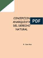 Concepcion Anarquista Del Derecho Natural