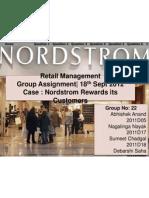 Group - 22_Retail Case Nordstorm