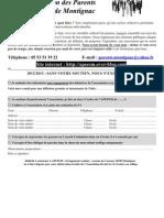APEESM-bulletin d'adhésion 2012