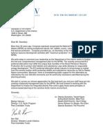 Pew Thank You Letter to Ken Salazar NPR-A