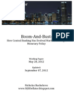 Boom and Bust-Evolution of Markets