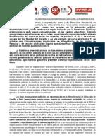 Manifiesto comunicado intersindical de enseñanza 27 de septiembre 2012