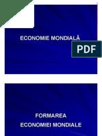 Economie Mondiala Anul 1 REI
