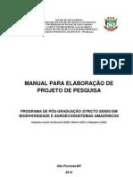 Anexo Modelo Final Projeto Dissertação PPGBioAgro