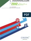 Social Journalism Study of 2012