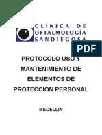 Protocolo Elementos de Proteccion