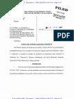 COMPLAINT FOR DECLARATORY JUDGMENT  Western World Insurance v Narconon In, Landmeier et al Ap2012