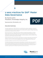 Winshuttle 5 Best Practices SAP MasterData Whitepaper En