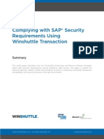 Winshuttle ComplyingwithSAPSecurityUsingTransaction Whitepaper En