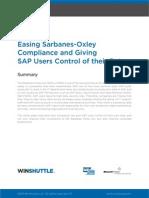 Winshuttle EasingSOXCompliance Whitepaper En