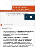 Fundamentos Del Marketing Agropecuario