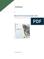 Server Essentials 10.6 Exam Prep Es
