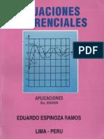 ecuaciones diferenciales - eduardo espinoza ramos - 5ºed