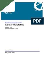 NN43001-100 03.02 Fundamentals LibraryReference