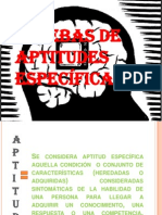 Test Aptitudes Especificas