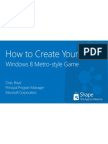 How to Create Your First Windows 8 Metro-style Game