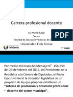 Carrera Profesional Docente - Finis Terrae