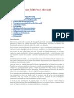 Nociones Generales Del Derecho Mercantil-Monografia