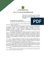 DNIT - Lei nº 11.171, de 2 de setembro de 2005