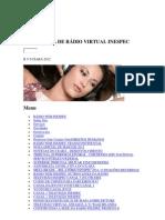 RÁDIO WEB INESPEC Página Inicial