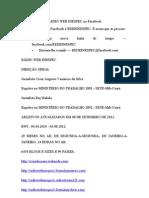 RÁDIOComo localizar a RÁDIO WEB INESPEC