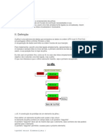 Exemplo de Pilhas Em C