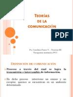 Teorias de La Comunicacion 20112